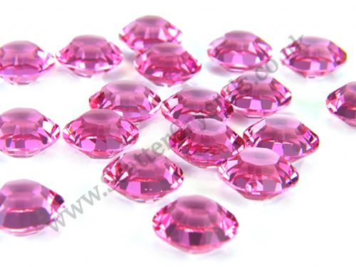 Pk 100 Swarovski Unfoiled Table Crystals, Style 1128, SS29 (6.2mm), Rose